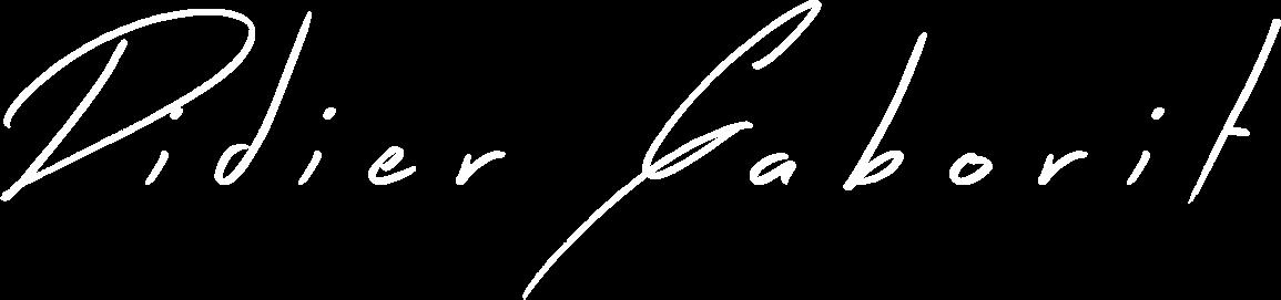 Signature Didier Gaborit